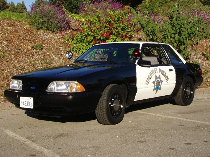 1987-1993_Ford_Mustang_Police_Car